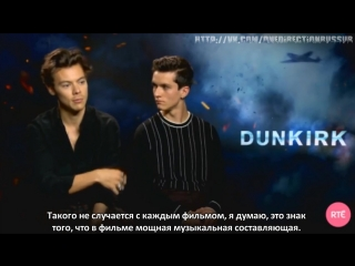 Harry Styles says he felt very emotional watching Dunkirk RTЕ Entertainment [RUS SUB]