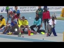 Maikel Vidal won the Boys' Long Jump at the IAAF World U18 Championships Nairobi 2017