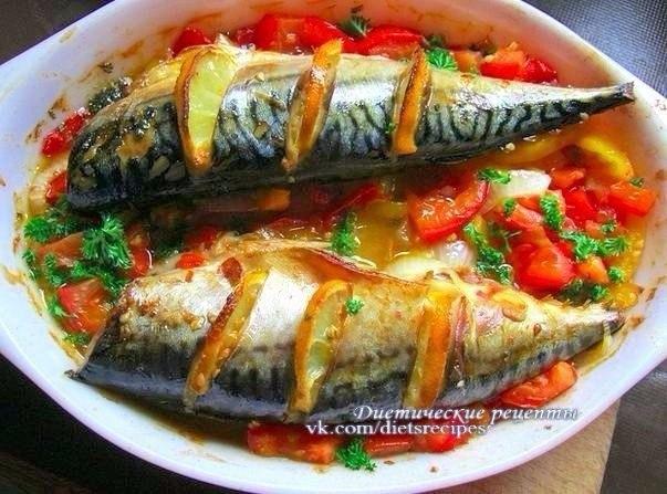 7 рецептов диетической рыбки к ужину!