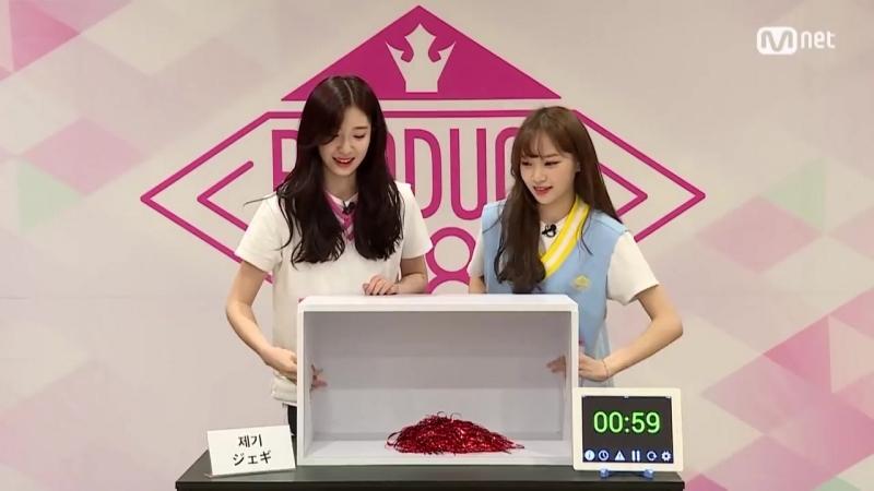 180527 Special Hidden Box Mission Kim Suyoon vs Kim Chaewon