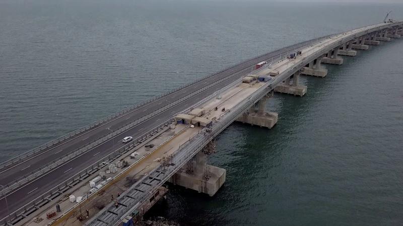Керченский Мост.15 04 2019.Полёт до мыса Ак-Бурун и на высоту 400 метров.