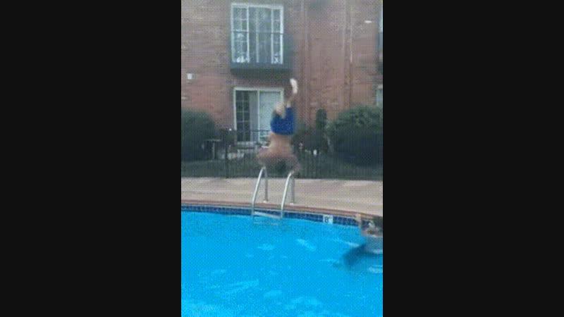 Показательный прыжок