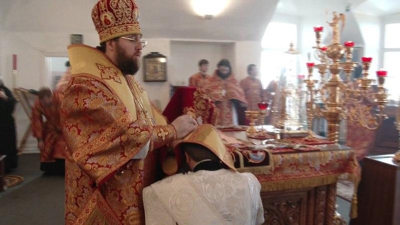 Два рукоположения священнослужителей в Воскресенском соборе