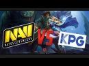 Na`Vi vs KPG - StarLadder Season 10 - Новый состав Na`Vi