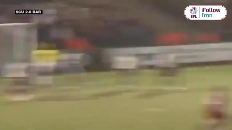 Гол Келии Юга в ворота Барнсли (сезон 2007/08)