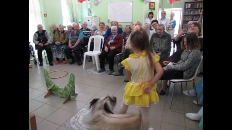 Праздник в пансионате для пожилых Опека поселок Понтонный