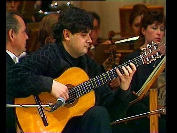 Алексей Зимаков играет концерт Аранхуэс (Томск). Alexey Zimakov plays Aranjuez (Tomsk), 1997 год