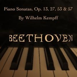 Wilhelm Kempff альбом Beethoven: Piano Sonatas, Op. 13, 27, 53 & 57