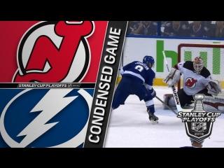 New Jersey Devils vs Tampa Bay Lightning R1, Gm1 apr 12, 2018 HIGHLIGHTS HD