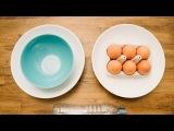 Как отделить яичный желток от белка