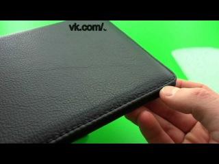Видео обзор: чехол НА ПЛАНШЕТ 7 дюймов, премиум класса,кожа.