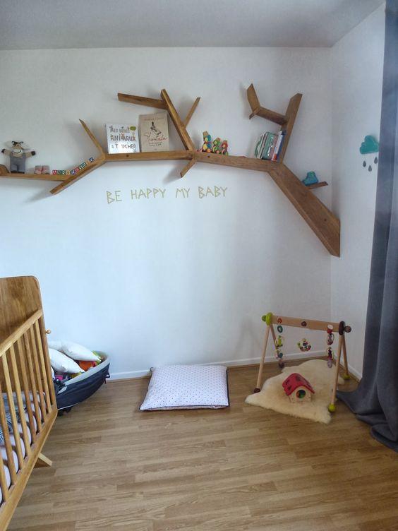 Креативные полочки для детской