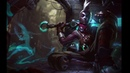 Totally normal ekko login screen without any memes nothing to see here move along