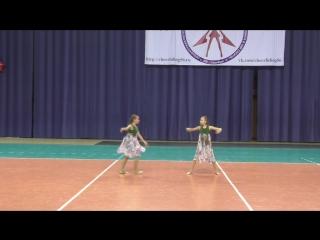 Чир Джаз 2. г. Оренбург. Юля и Елизаветта