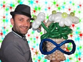 Корзина с цветами из шариков шдм аэродизайн ★ basket of balloons