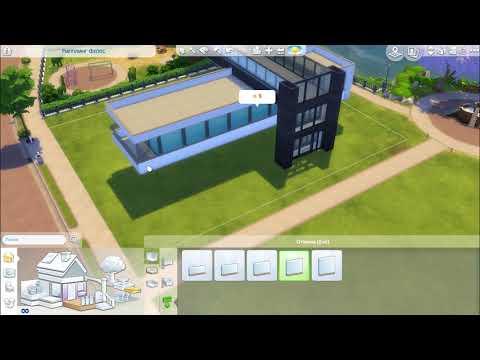 Sims gameplay симс_4 🏠⭐🎬 строительства дома для моего нового проекта