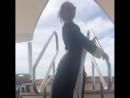 Ксения Собчак показала пьяные танцы на яхте