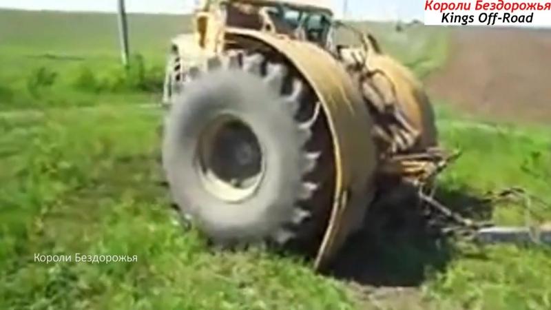 ТРАКТОР ЗВЕРЬ! ТРАКТОР КИРОВЕЦ Невероятная Мощь и Сила!К-700, К-701,К-744 Наши трактора самые лучшие