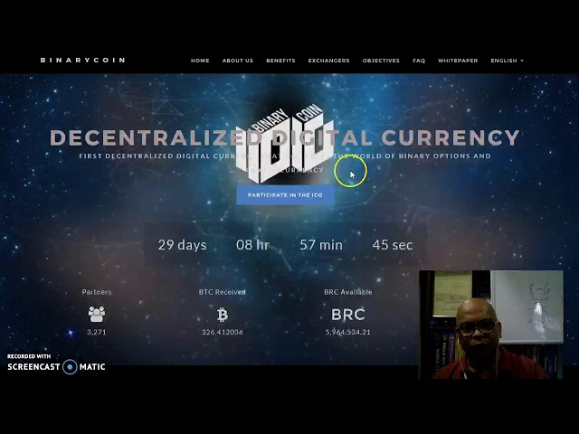 Review of Binarycoin BRC and their On-going ICO