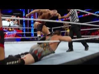 WWE Main Event 01.07.2014 - Big E, Dolph Ziggler & Rob Van Dam vs. Cesaro & RybAxel
