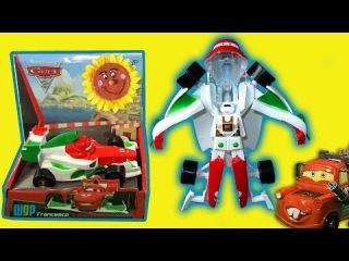 Трансформер Франческо Бернулли. Игрушка для мальчиков. Герой мультфильма Тачки 2 (cars 2)