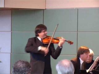 Bartok: Romanian Dances - Liviu Prunaru violin, Jeroen Bal piano