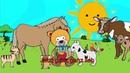 Wie macht der Hund - Yleekids Deutsch lernen mit Kinderliedern
