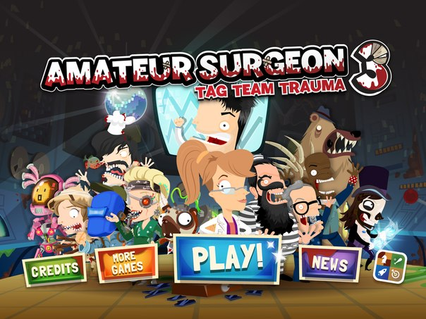 Скачать Amateur Surgeon 3 для android