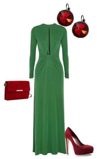 Сочетание зеленого цвета и красного