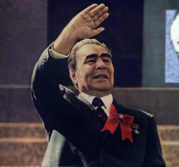 Генеральный секретарь ЦК КПСС Л. И. Брежнев.