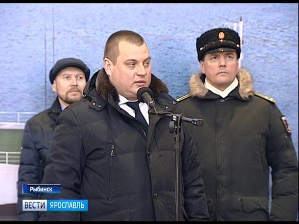 В Рыбинске заложили новейшее судно для Военно-морского флота России