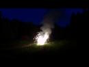 Салют на День Рождения в походе на байдарках по реке Керженец 15-17 июня 2018г - 1