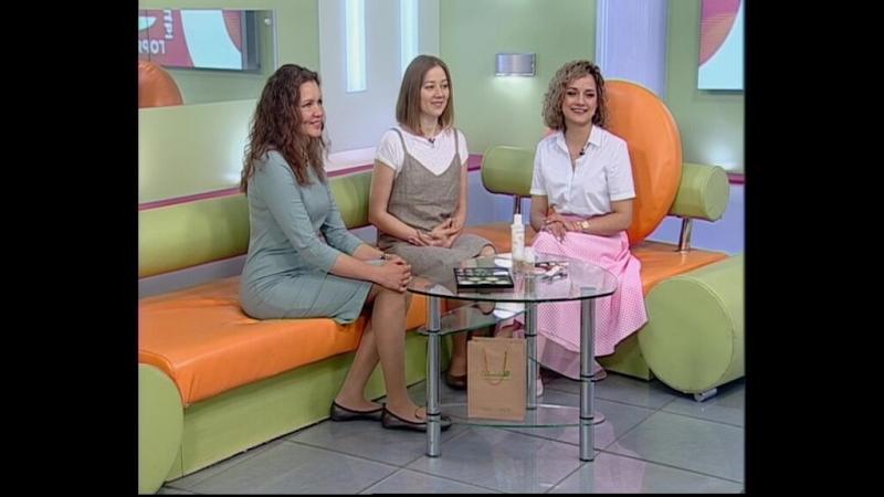Утро в столице Кира Еремеева и Алена Юртова основательницы магазина натуральной косметики Календула