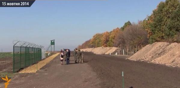 Кабмин выделил 850 млн грн на строительство линии безопасности на Донбассе - Цензор.НЕТ 4874