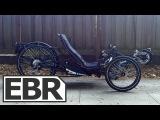 HP Velotechnik Scorpion FS 26 S-Pedelec (Full Suspension) Recumbent Electric Bike Video Review