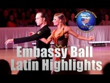 Embassy Ball 2018 | Latin Dancesport Highlights | Winners Ricardo Cocchi - Yulia Zagoruychenko