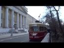 Парад трамваев 2018 Идут по Покровскому бульвару