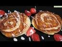 Ароматный Завтрак ОЛАДЬИ БЛИНЫ С КОРИЦЕЙ синнабоны Pancake Cinnamon Recipe