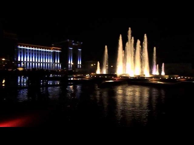 Фонтан Площадь тысячелетия г. Саранск