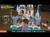 LEGO Disney Princess Cinderellas Romantic Castle Review : LEGO 41055