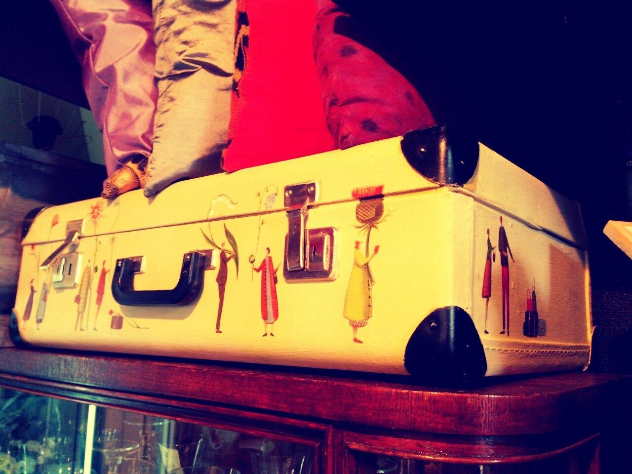 дизайнерский чемодан