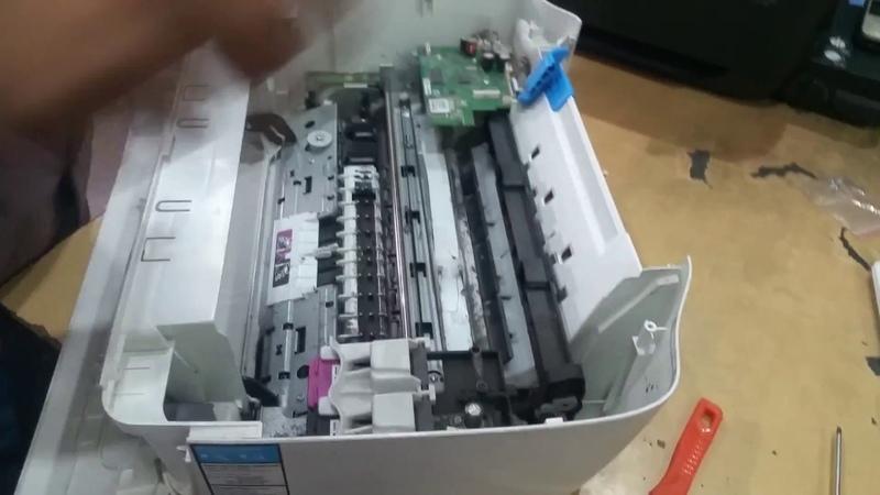 HP Deskjet ink advantage 3635 encoder strip problem