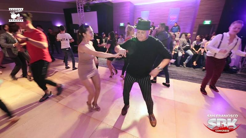 Osmar Perrones Keyla - social dancing @ San Francisco SBK Congress 2018