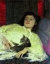Картина Ивана Крамского Девушка с кошкой, возможно, самое жизненное произведение искусства…