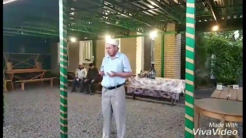 Ифтар в День Ашура с гостями - самыми активными братьями мечети г. Красный Луч
