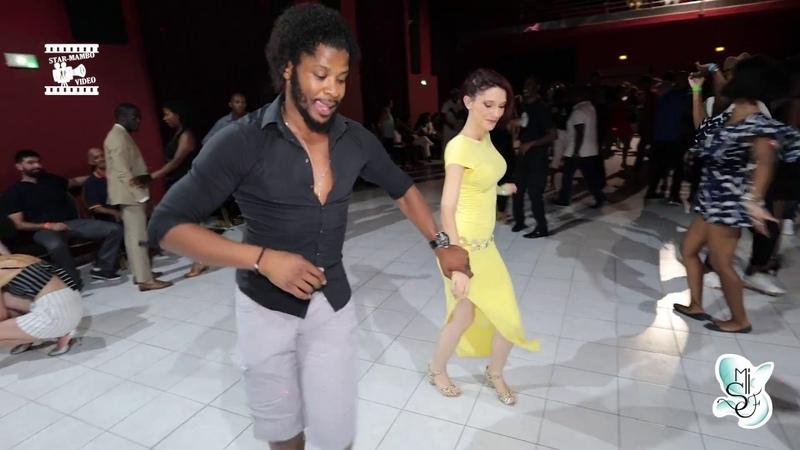 Terry SalsAlianza Lucile - salsa social dancing @ Martinique Int Salsa Festival 2018