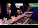 The Sims 4 Challenge Черный вдовец 1 Я маньяк