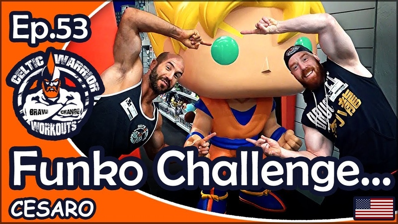 Ep.53 Funko Challenge with Cesaro Workout...