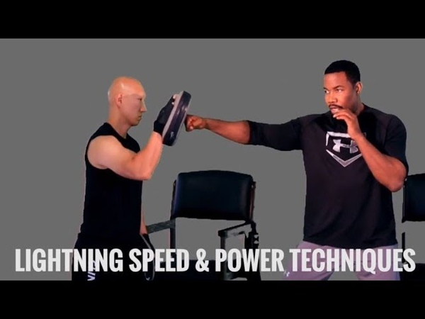 Michael Jai White On Lighting Speed and Power Techniques