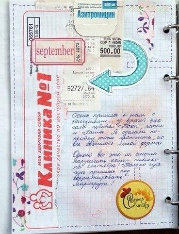 Оформление личного дневника внутри для девочек видео